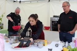 Sommerfestival auf Schloss Ippenburg: Kochshow mit der Marmeladenk�nstlerin V�ronique Witzigmann