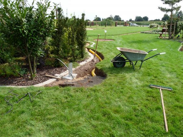 drainage legen anleitung