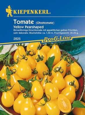 Tomaten: Yellow Pearshaped, Lycopersicon lycopersicum